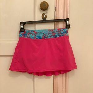Great condition girls lulu/ivivva tennis skirt
